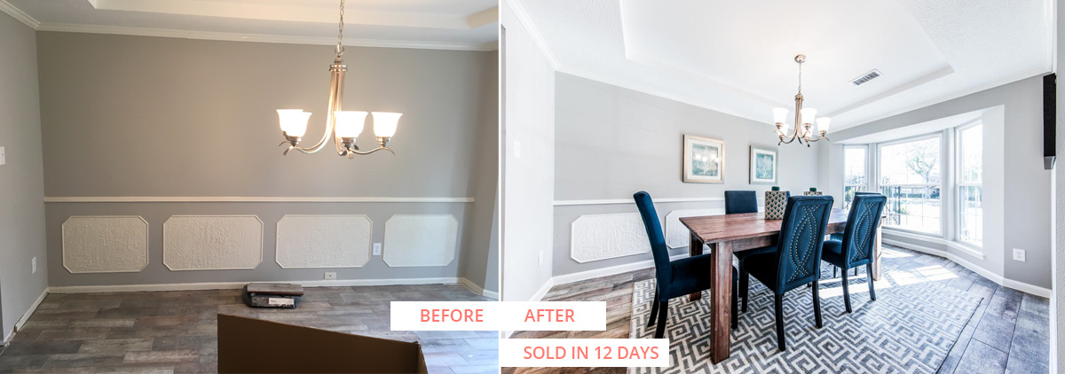 Braewick Before and After Sold Reveal Home Staging